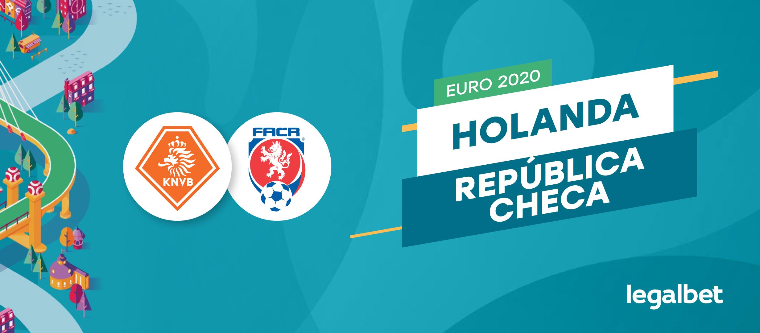 Apuestas y cuotas Holanda - República Checa, EURO 2020