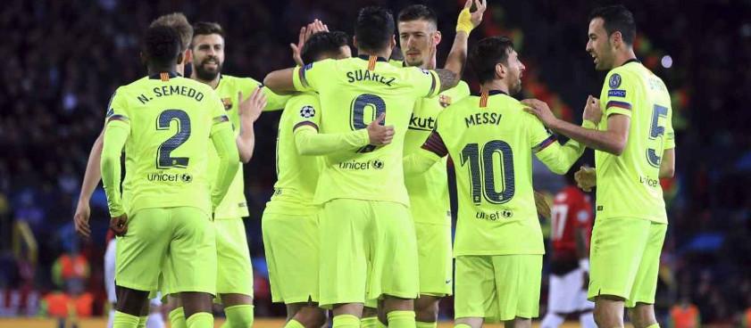 Pronóstico Barcelona - Manchester United, Champions League 2019