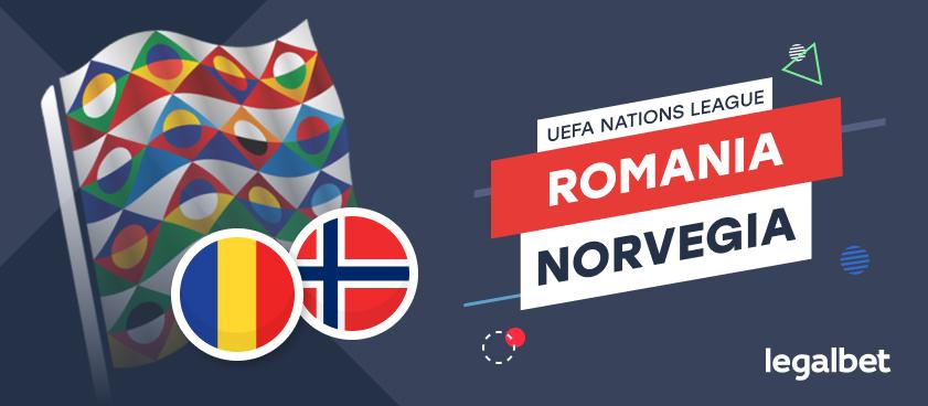 România - Norvegia: cote la pariuri şi statistici