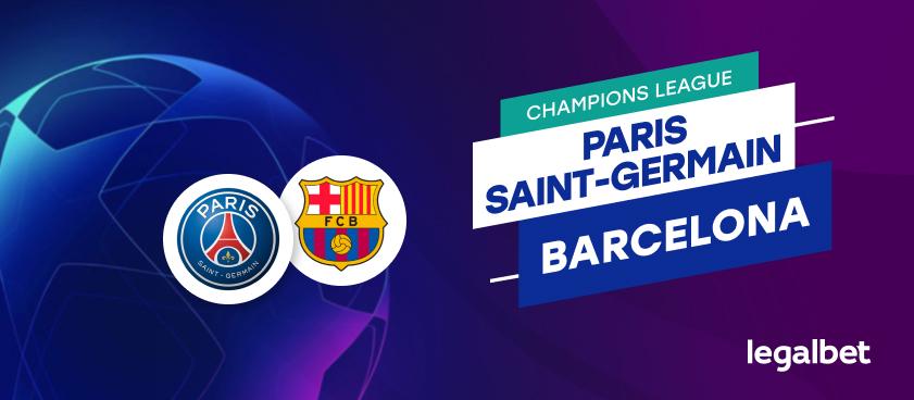 Apuestas PSG - Barcelona