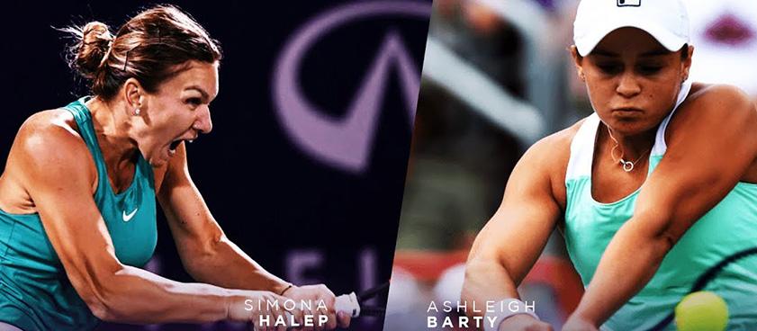Pontul zilei din tenis Simona Halep vs Ashleigh Barty
