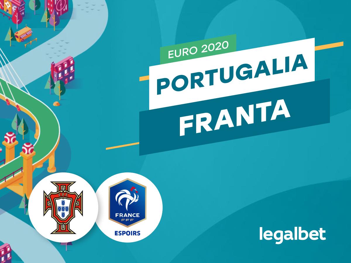 Karbacher: Portugalia - Franta: cote la pariuri si statistici.