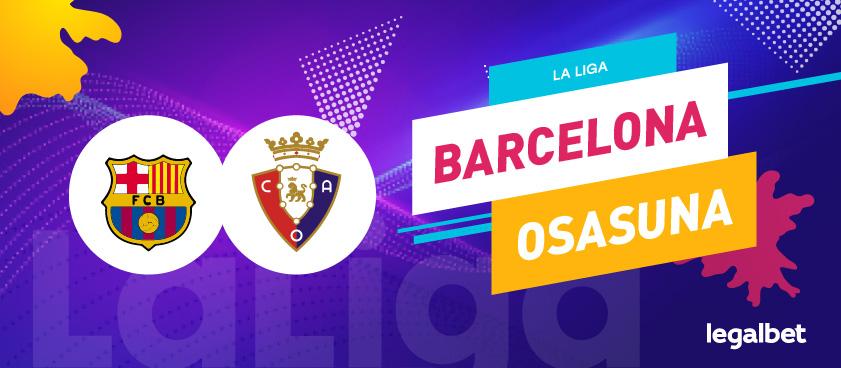Previa, análisis y apuestas FC Barcelona - Osasuna, La Liga 2020