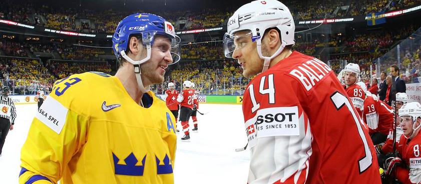 Швеция – Швейцария: битва между прошлогодними финалистами