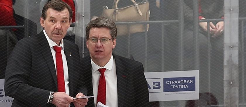 Прогноз на матч КХЛ «Спартак» - СКА: третья серия мести