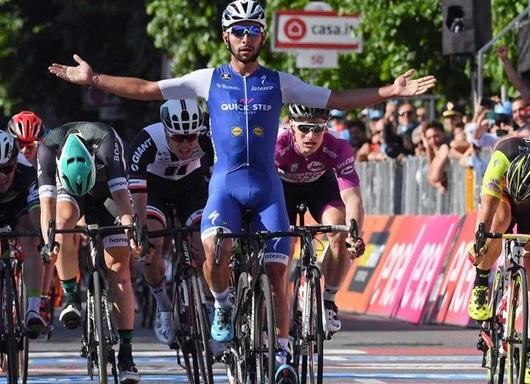 Castiga Gaviria etapa a 12-a din Turul Italiei?