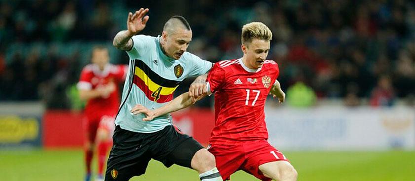 Россия — Бельгия: прогноз на матч