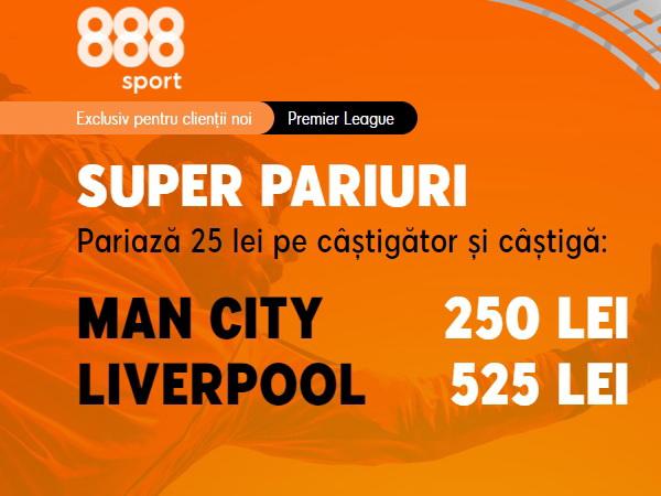 legalbet.ro: Manchester City - FC Liverpool, avem aici orgolii mari şi cote uriaşe.