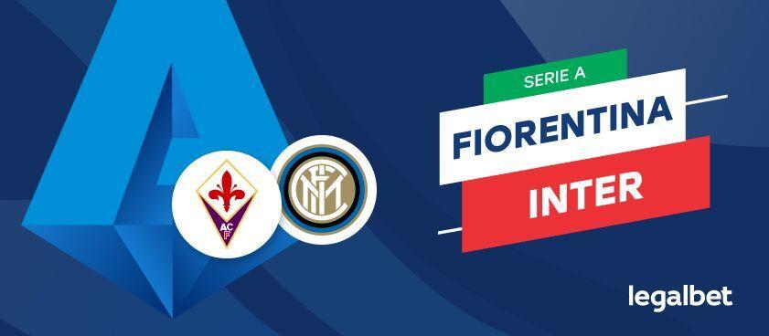 Fiorentina - Inter Milano, cote la pariuri, ponturi şi informaţii