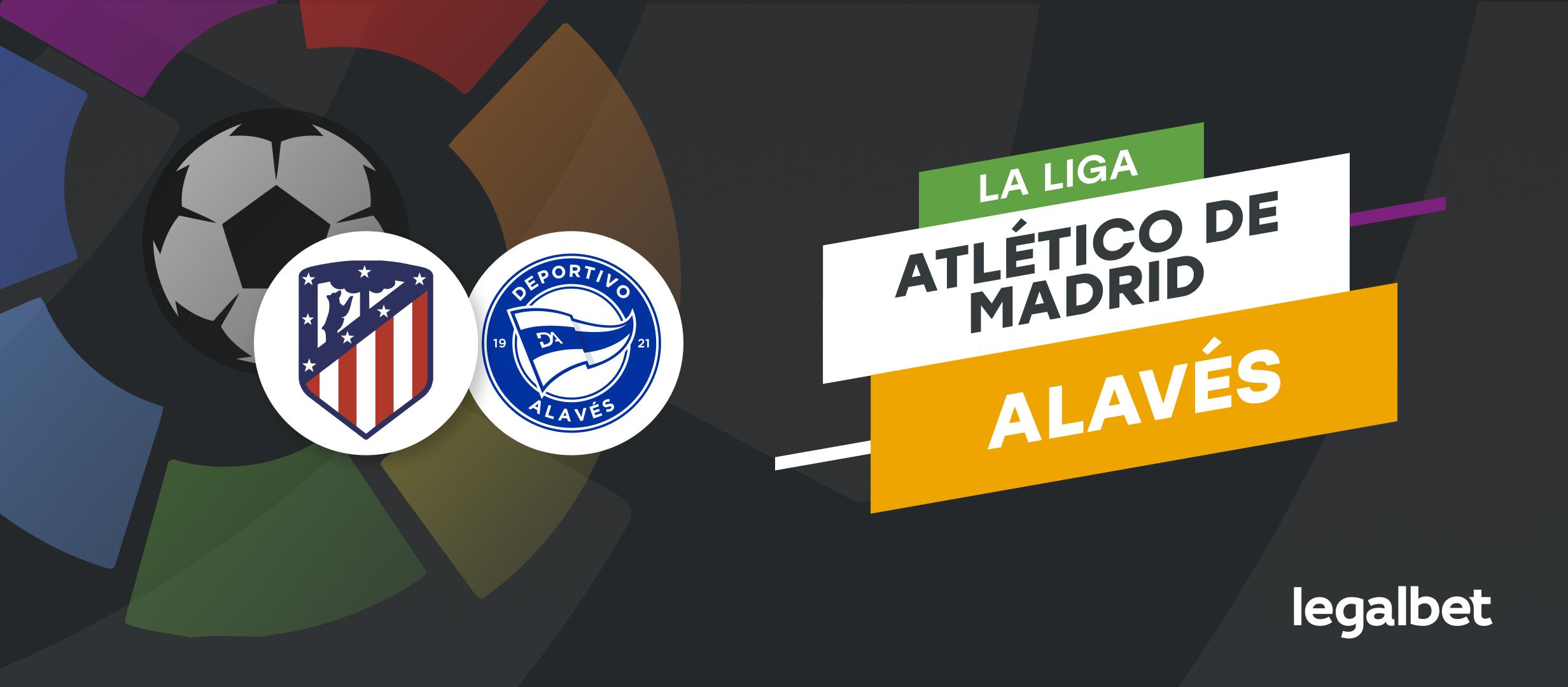 Apuestas Alavés - Atlético de Madrid