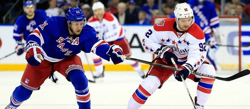 Washington Capitals - New York Rangers: Ponturi pariuri NHL