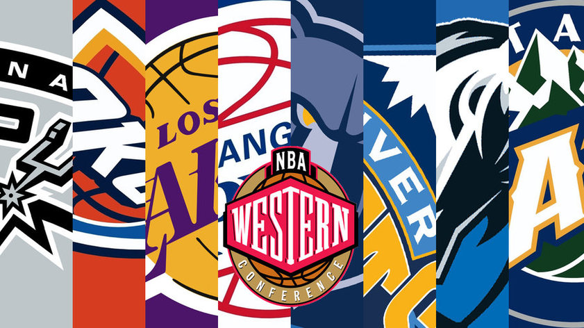 На победах каких команд в западной конференции NBA можно было заработать?