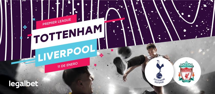 Previa, análisis y apuestas Tottenham - Liverpool, Premier League 2020