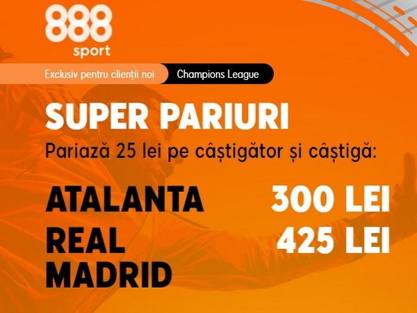 legalbet.ro: Real Madrid are 9 jucători accidentaţi. Va profita Atalanta de absenţele spaniolilor?.