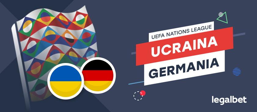 Ucraina- Germania: ponturi pariuri, cote, statistici