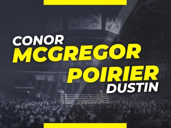 Legalbet.pt: Previsão McGregor vs Poirier: Mercado de Apostas e Odds no UFC 264 Main Event.