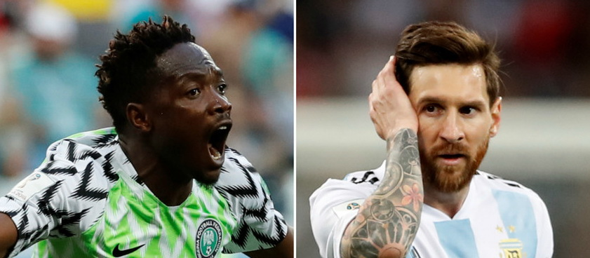 Nigeria - Argentina. Pontul lui IulianGGMU