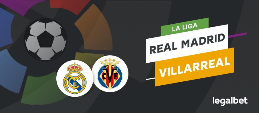 Apuestas y cuotas Real Madrid - Villarreal, La Liga 2020/21