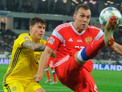 The Red: Лига наций УЕФА. Лига B. Швеция - Россия. Прогноз на матч.