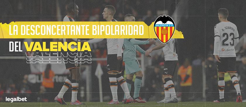 La desconcertante bipolaridad del Valencia