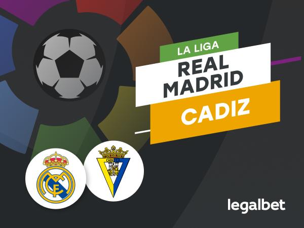 Antxon Pascual: Apuestas y cuotas Real Madrid - Cádiz, La Liga 2020/21.