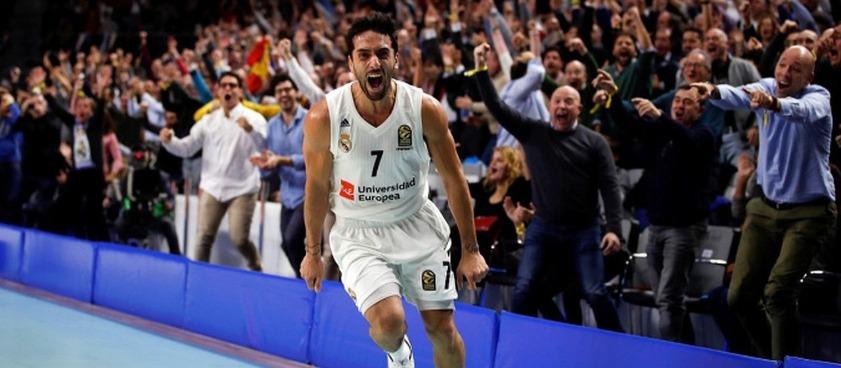 Real Madrid – Lyon-Villeurbanne: Campazzo = ασίστ