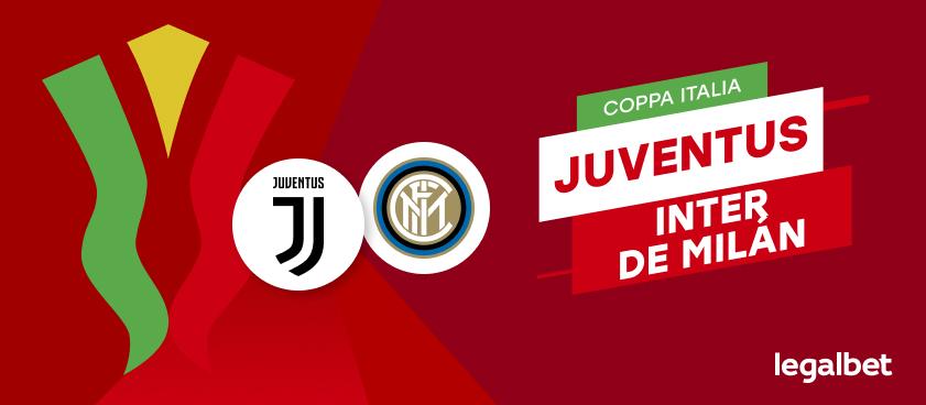 Apuestas Juventus - Inter de Milán