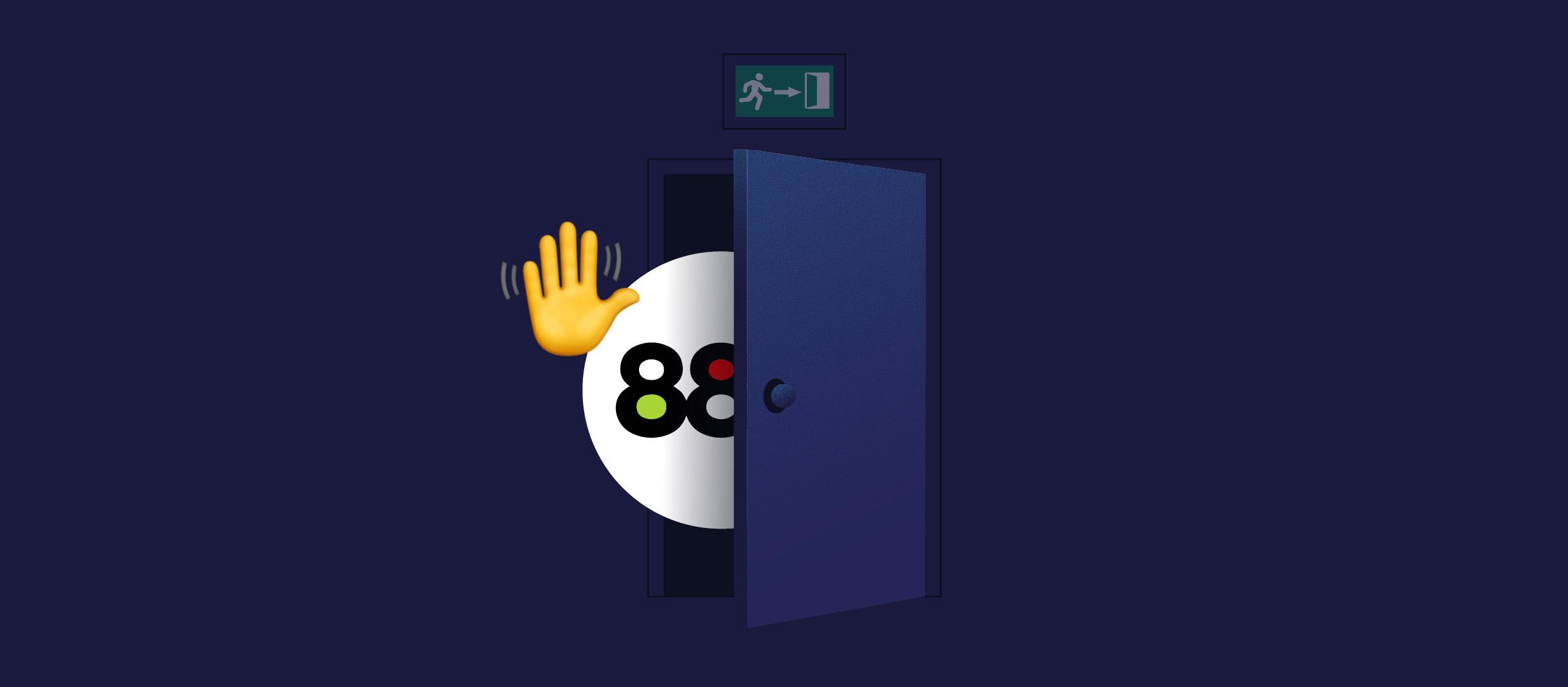 БК 888 прекращает работу в России с 1 октября