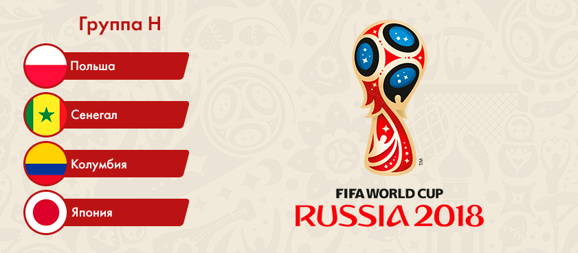 Группа H на чемпионате мира: статистика сборных и обзор ставок