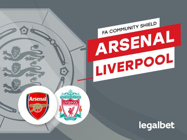 Antxon Pascual: Previa, análisis y apuestas Arsenal - Liverpool, FA Community Shield 2020.