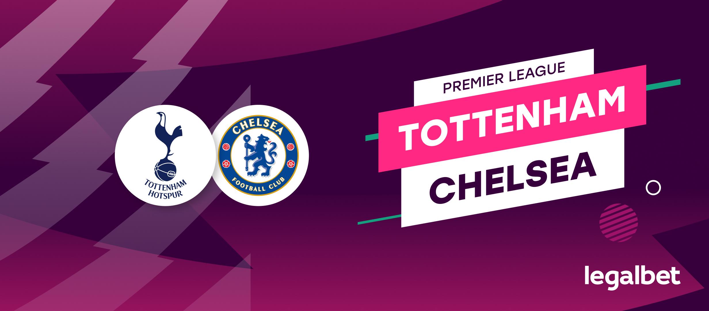 Apuestas y cuotas Tottenham - Chelsea, Premier League 2021/22