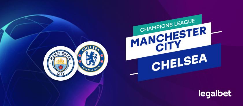 Apuestas y cuotas Manchester City - Chelsea, Champions League 2020/21