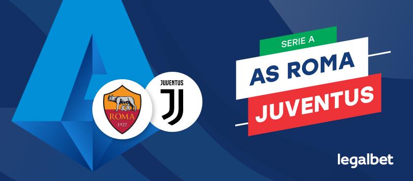 Roma vs Juventus - cote la pariuri, ponturi si informaţii