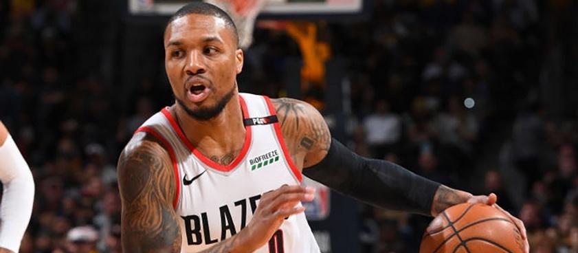 Portland Trail Blazers - Denver Nuggets. Pont NBA