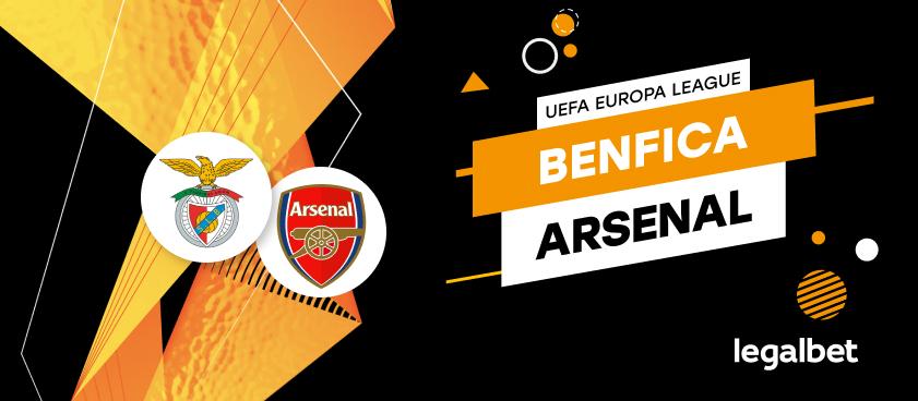 Benfica Lisabona - Arsenal Londra: cote la pariuri şi statistici