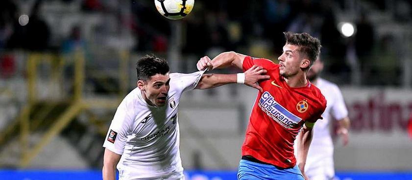Fotbal Club FCSB - Astra Giurgiu (play-off). Pontul lui Karbacher