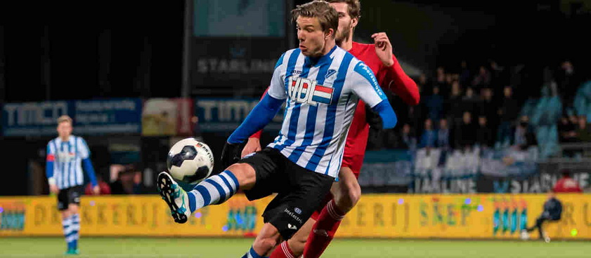 FC Eindhoven - Almere. Pontul lui Paul