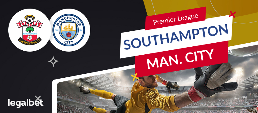 Monday nights big match, Southampton vs Man City