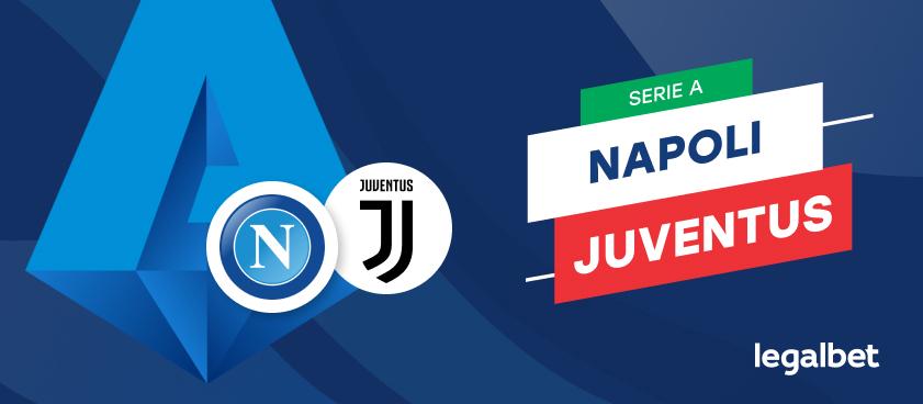 Apuestas y cuotas Napoli - Juventus, Serie A 2021/22