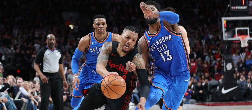 Portland Trail Blazers - OKC. Pronosticuri NBA