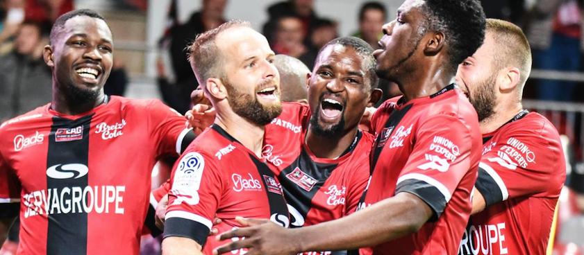 FC Girondins Bordeaux - EA Guingamp. Pontul lui Karbacher