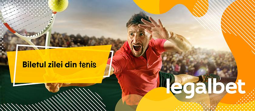 Biletul zilei tenis 23 septembrie 2019