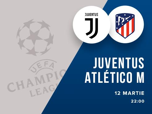 legalbet.ro: Juventus Torino - Atletico Madrid: prezentare cote la pariuri si statistici.