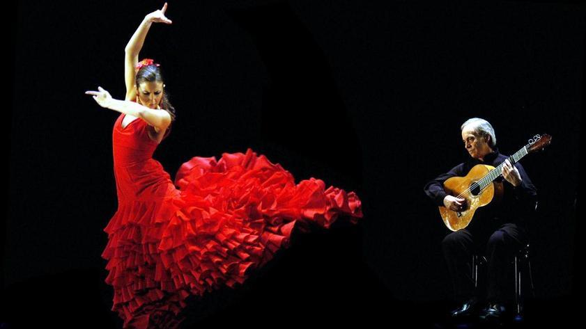 Испания танцует фламенко.