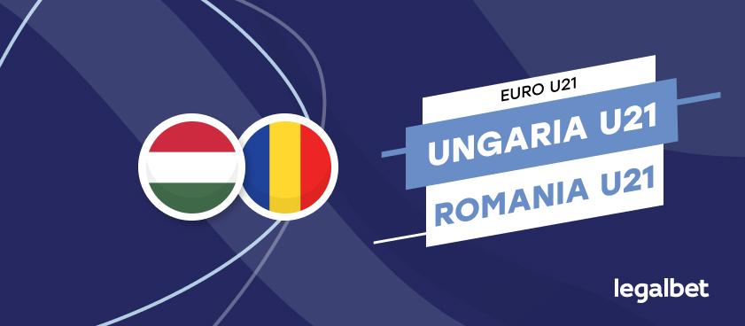 Ungaria U21  - România U21, cote la pariuri, ponturi şi informaţii