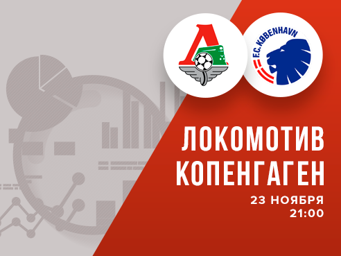 Legalbet.ru: Лига Европы. «Локомотив» – «Копенгаген»: на что ставить?.