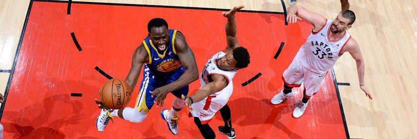 «Торонто Рэпторз» — «Голден Стэйт»: Прогноз на пятый матч финала НБА