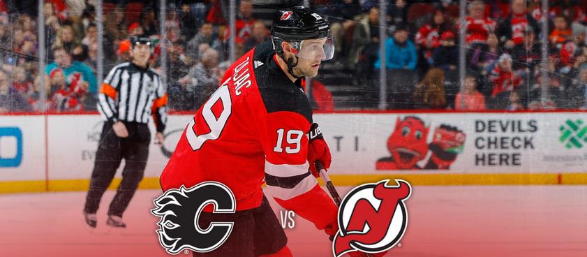 Calgary Flames - New Jersey Devils: Predictii NHL