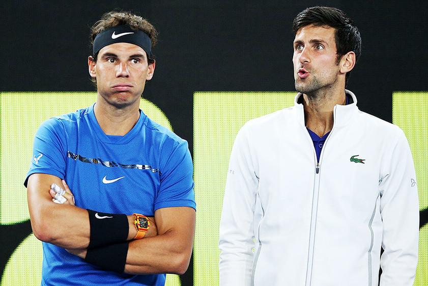 Теннис. Финал Australian Open. Джокович или Надаль?