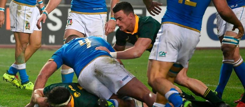 Africa de Sud - Italia. Ponturi CM de Rugby